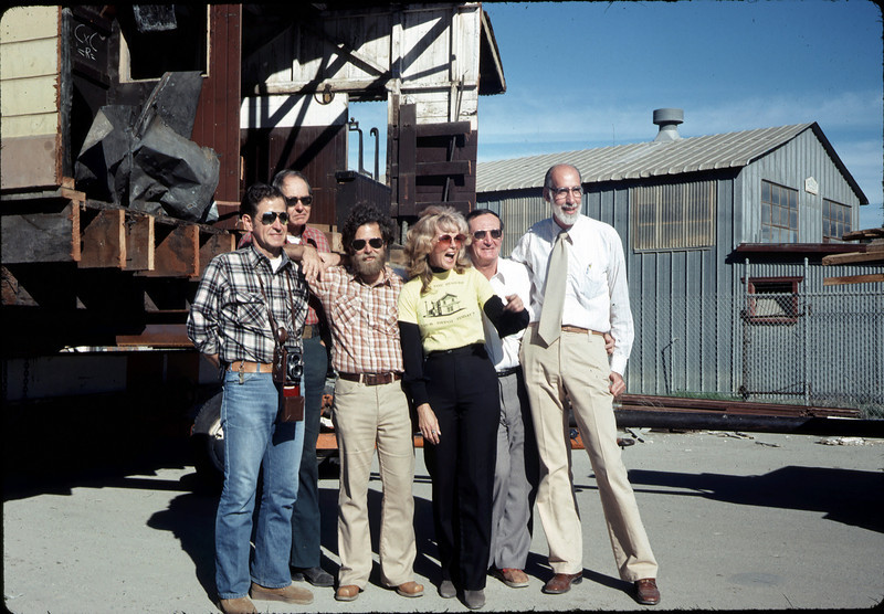 Moving Day, 11/18/1981. Paul Heuston, Gene Allen, Gary Coombs, Phyllis Olsen, Londi Ciabattoni, Ray Baird. acc2005.001.0083
