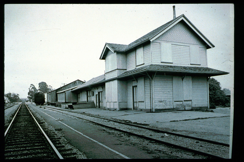 Goleta Depot was closed in 1973. acc2005.001.1803