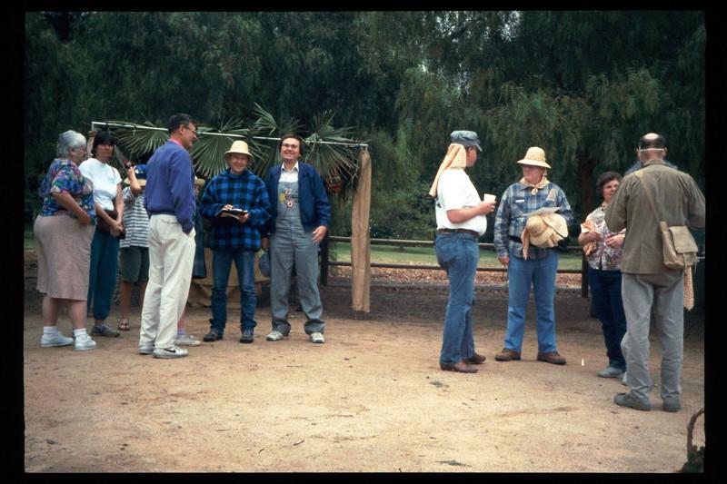 "The Spring Fundraiser (14th annual) had a ""Too-Fari Safari"" theme, May 20, 1995. acc2005.001.2056"