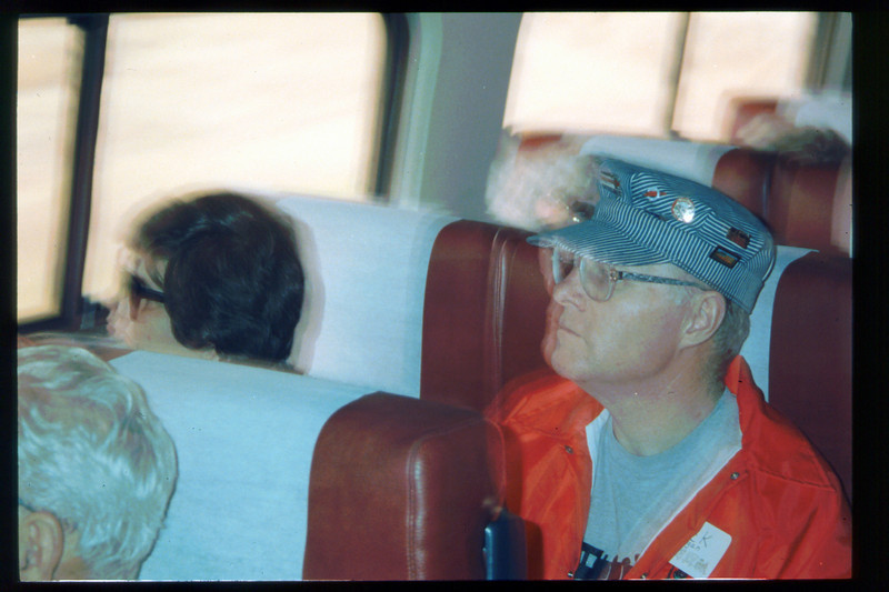 """The museum's """"Slow Train To Vegas"""" rail excursion (Harriet and Jack Cogan) took place Oct. 31 thru Nov. 2, 1993. acc2005.001.1901"""