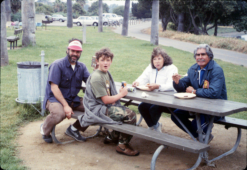 Asphalt Regatta spring fundraiser (Sam and Nick Caccese, Alice and Al Jaramillo), 4/1989. acc2005.001.1107