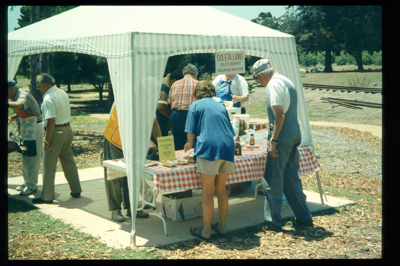 """The 1995 """"Steaming Summer"""" event was held June 24, July 22, and Aug. 26 (Goleta Lions food booth). acc2005.001.2090"""