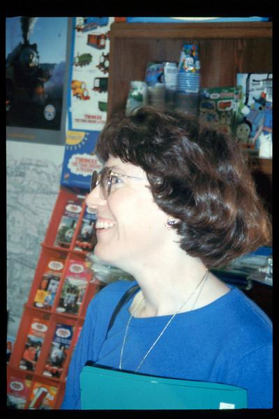 Museum member and volunteer Diana Mina, 1995. acc2005.001.2071