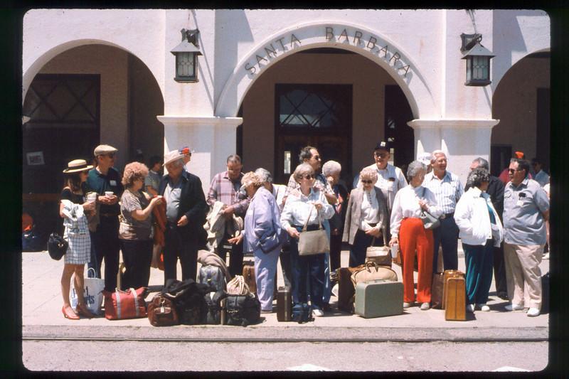 California State Railroad Museum, Sacramento trip, 1991. acc2005.001.1466