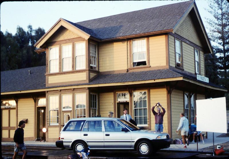 1988 Toyota national magazine ad photo shoot, 8/5/1987 acc2005.001.0838