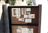 Parking lot kiosk shares museum information, 4/1986 acc2005.001.0580