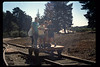 Depot Day handcar rides, 10/1990. acc2005.001.1402