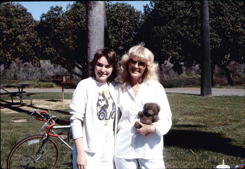 Asphalt Regatta spring fundraiser (Kari Olsen and Phyllis Olsen), 3/22/1986. acc2005.001.0565