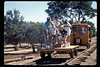 Depot Day handcar rides, 10/1990. acc2005.001.1409