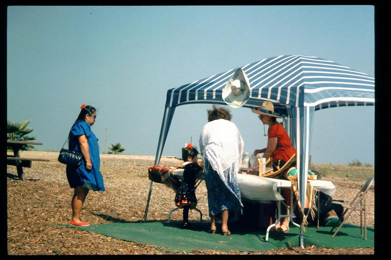 """""""El Tren De La Fiesta"""" event (Mary Cole) was held Aug. 7, 1993. acc2005.001.1843"""