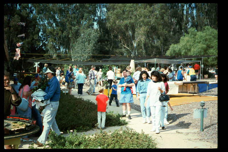 The 10th Annual Depot Day event was held on Sunday, Oct. 10, 1992. acc2005.001.1695