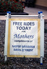 "Santa Barbara Bank & Trust sponsored ""Free Rides For Moms"" on Mother's Day, May 7, 1994. acc2005.001.1955"