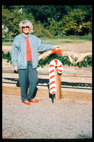 """The """"Holiday Train"""" event, which later became the """"Candy Cane Train,"""" was first held in 1993, from Nov. 26 thru Dec. 24. acc2005.001.1891"""