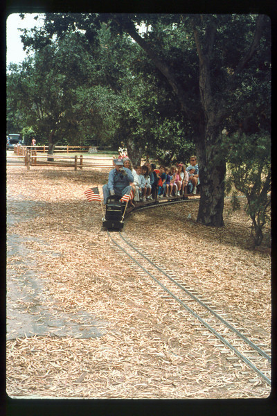 Fourth of July train rides (Jack Cogan), 7/4/1991. acc2005.001.1487