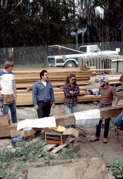 Apprentice carpenters, Feb. 1982. acc2005.001.0165