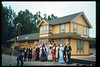 The traditional Santa Barbara Old Spanish Days Committee<br /> photograph was taken at Goleta Depot. The photo was published in the Santa Barbara<br /> News-Press on Aug. 1, 1993. acc2005.001.1828