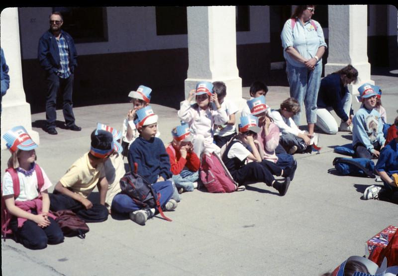 Foothill Elementary School 3rd Grade trip to San Luis Obispo, 3/22/1990. acc2005.001.1290