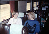Museum leads Vieja Valley Elementary School rail trip to Glendale, 4/1989. acc2005.001.1077