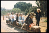Santa Barbara's museum directors meet at the railroad museum, take a train ride, 8/11/1993. The luncheon was hosted by Cox Communications. acc2005.001.1786