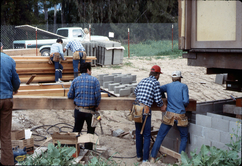 Apprentice carpenters, Feb. 1982. acc2005.001.0151