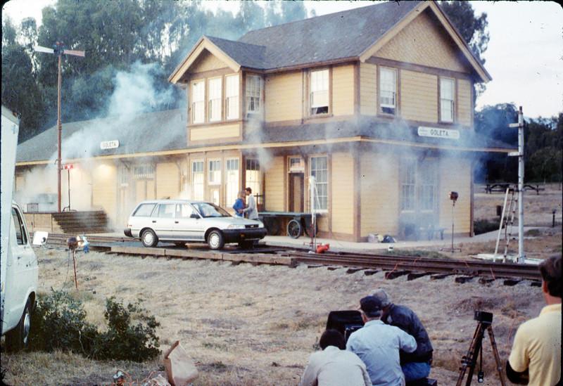 1988 Toyota national magazine ad photo shoot, 8/5/1987 acc2005.001.0844