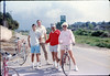 1987 Asphalt Regatta spring fundraiser - Steve Kramer, Kip Kramer, Bill Shinn and Janice Shinn. acc2005.001.0770