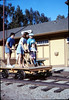 Handcar rides at museum begin, 11/1989. acc2005.001.1228