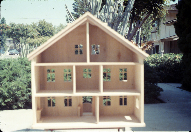 Doll house was donated by Albert Schneeclaus for a museum fundraiser, 1987 acc2005.001.0740
