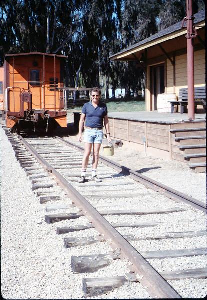 Volunteer Bob Burtness, 2/21/1987 acc2005.001.0702