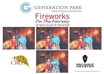 Fireworks on the Fairway 2016