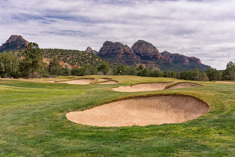 Seven Canyons Golf Club 12th hole