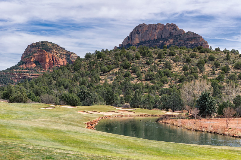 Seven Canyons Golf Club 6th Hole