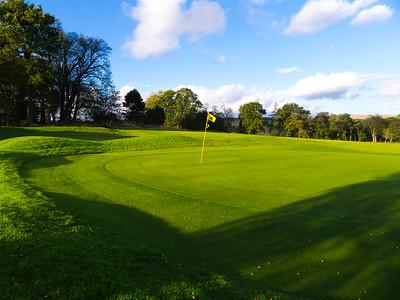 4th green, Balmore Golf Club
