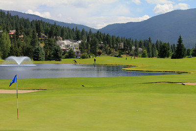 #15 Green, Medowwood GC,  Liberty lake, Wa