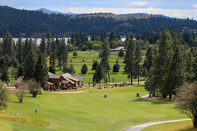 #18 Fairway, Medowwood GC,  Liberty lake, Wa.  Across the road is Liberty Lake GC