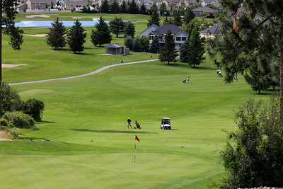 #16 Green and Fairway, Medowwood GC,  Liberty lake, Wa
