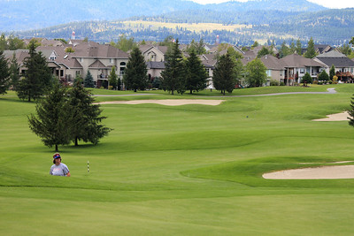 #16, just off the green, Medowwood GC,  Liberty lake, Wa