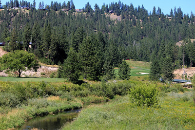#18 Fairway, The Creek at Qualchan GC,  Spokane, Wa