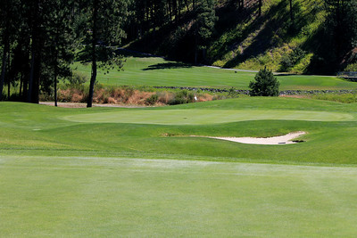 #8 Green, The Creek at Qualchan GC,  Spokane, Wa