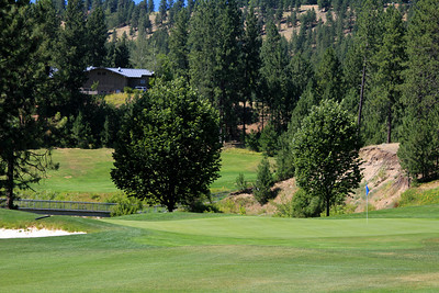 #15 Green, The Creek at Qualchan GC,  Spokane, Wa