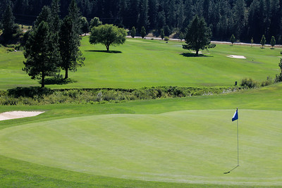 #18 Green, The Creek at Qualchan GC,  Spokane, Wa
