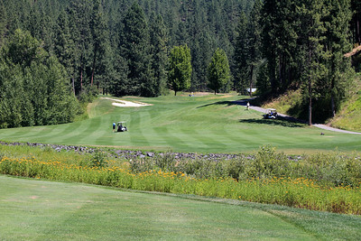 #9 Fairway, The Creek at Qualchan GC,  Spokane, Wa