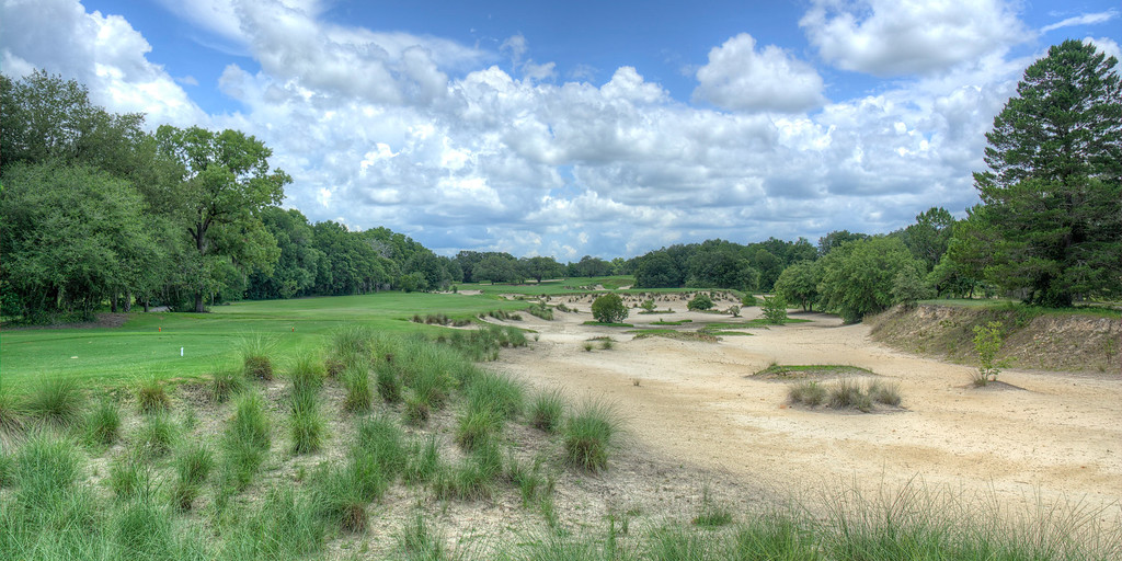 The 4th Hole at World Woods Golf Club - Pine Barrens