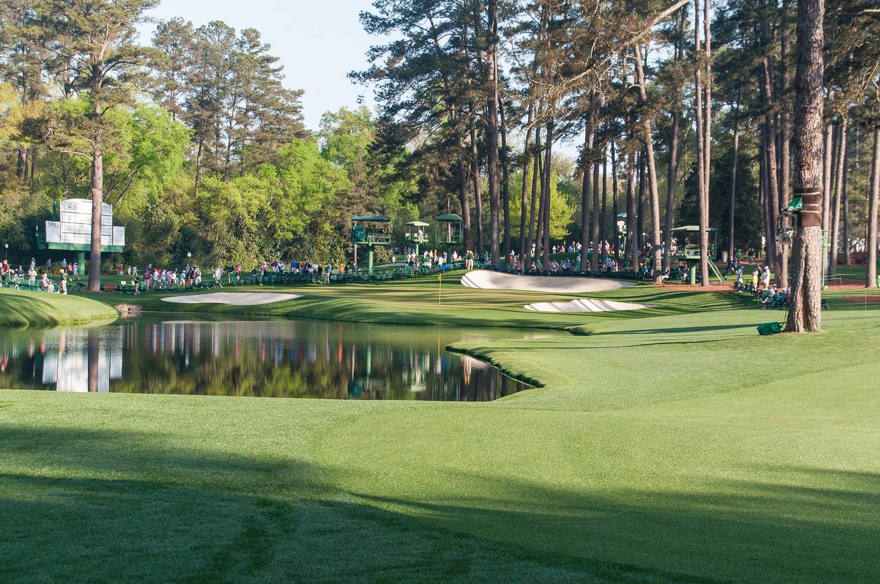 16th hole Augusta National Golf Club