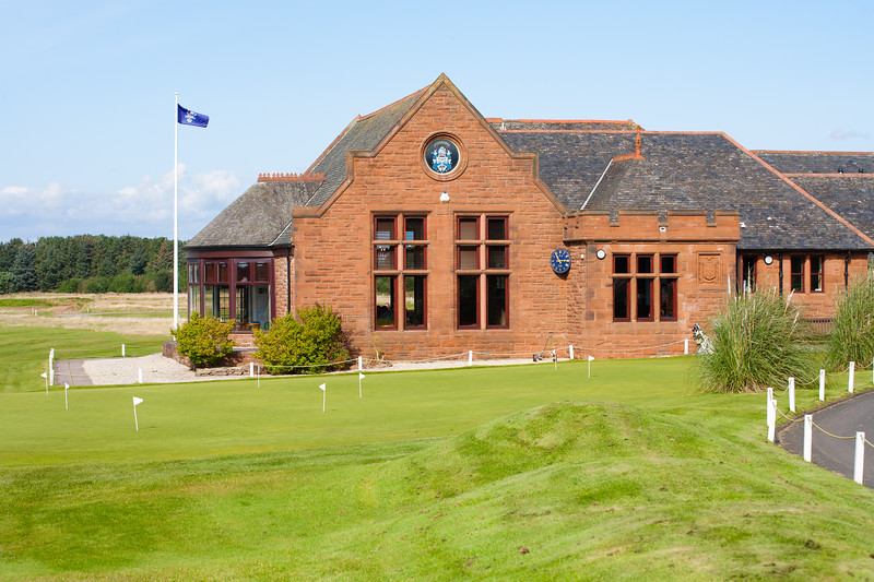 The Clubhouse at Glasgow Gailes Golf Club