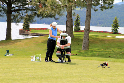 The Couer d'Alene Resort, Couer d'Alene, ID - Complimentary Massage on Driving range