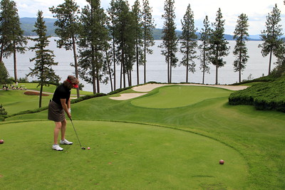 The Couer d'Alene Resort, Couer d'Alene, ID - Hole #6