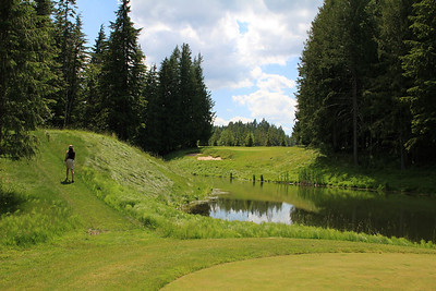 The Idaho Club, Sandpoint, ID - Hole #4