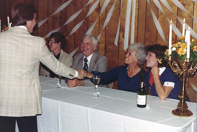 The party was an anniversary party for Bob and Celine Dickemann.  Bob and Celine are still Lake Valley members today.