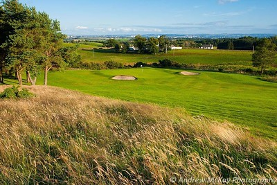 City views at Milngavie Golf Club